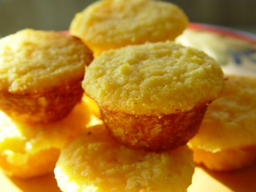 Gluten Free Mini Honey-Corn Muffins