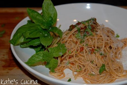 Spaghetti with Herbs
