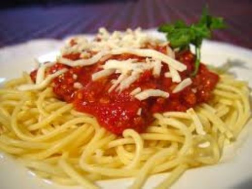 Pasta Sauce with Spinach