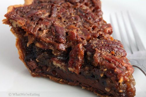 Pecan Pie with Nutella Bottom