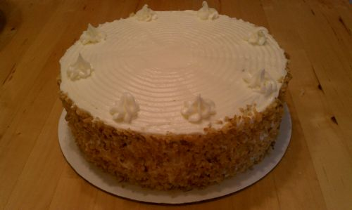 Farm Stand Carrot Cake