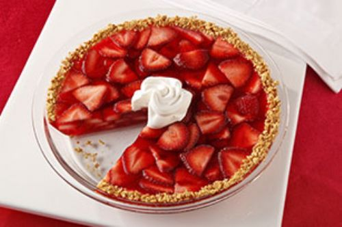 Strawberry Fruited Pie