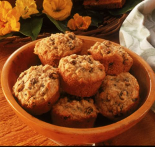 Raisin Oatmeal Muffins