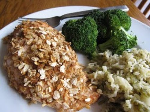Baked Oat Chicken