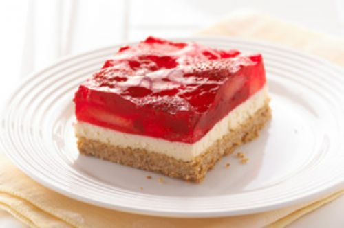Strawberry Pretzel Squares