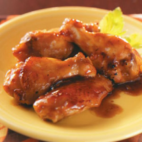 Marmalade Soy Wings