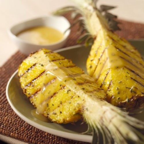 Grilled Peppercorn Pineapple