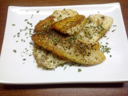 Pan Seared Herbed Tilapia