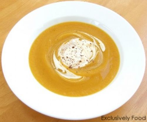 Roast Pumpkin Soup Recipe