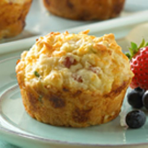 Medifast - Ham & Cheese Omelet Muffins