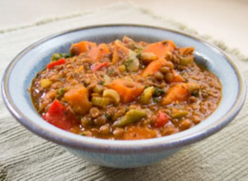 Lentil Sweet Potato Stew