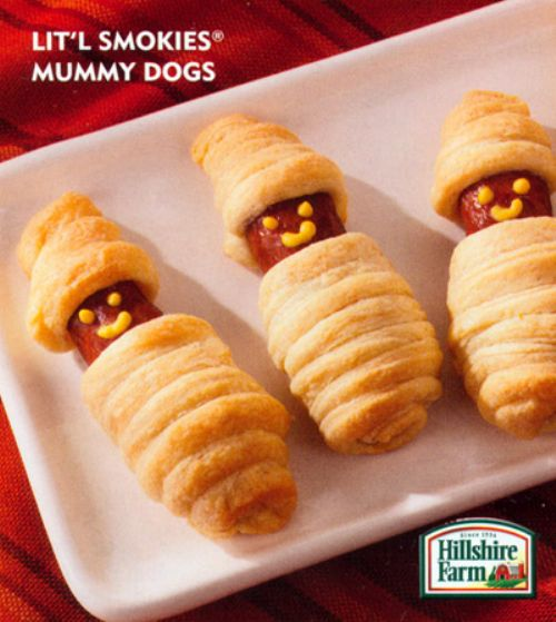 Lit'l Smokies Mummy Dogs