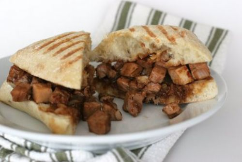 Chinese Roast Pork Panini