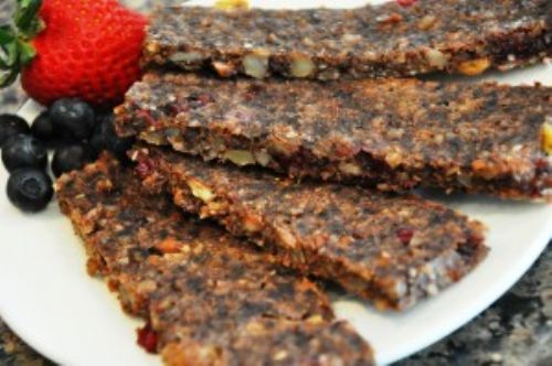 Strawberry-Blueberry Breakfast Bars