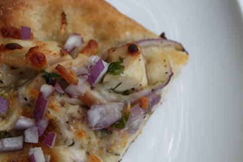 Chicken and Rosemary Pizza