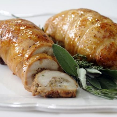 Mario Batali's Stuffed Turkey