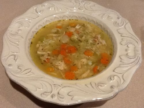 Skinny Chicken soup