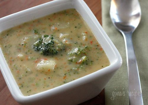 Broccoli Cheese and Potato Soup