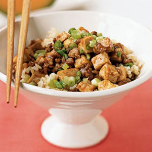 Young's Mapo Tofu (Stir-Fried Tofu in Hot Sauce)