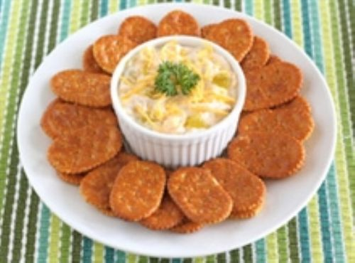 Nacho Chicken-Cheese Spread