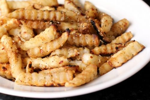 Feisty Sesame Fries