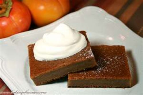 Indiana Persimmon Pudding
