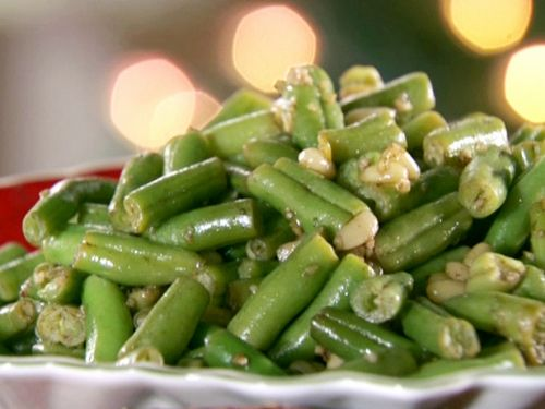 Green Beans with Brown Butter and Pine Nuts
