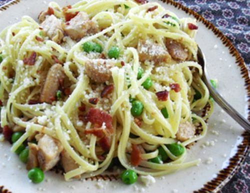 Garlic Chicken Linguine
