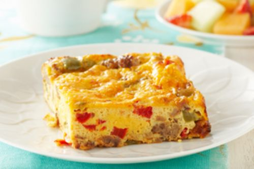 Salsa Egg Brunch Bake