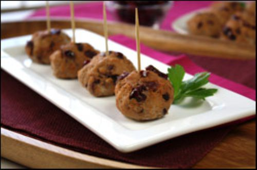 Cran-tastically Easy Meatballs