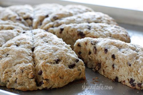 Chocolate Chip Buttermilk Scones