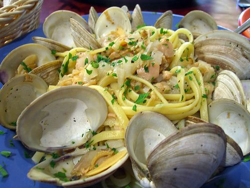 SL-Side Dish-Linguini with Clams