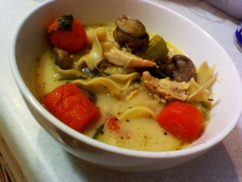 Crazy Delicious Chicken Noodle Soup/Soup Portion