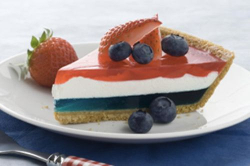 JELL-O Easy Patriotic Pie