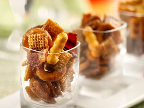 Kentucky Bourbon Bacon Chex Mix