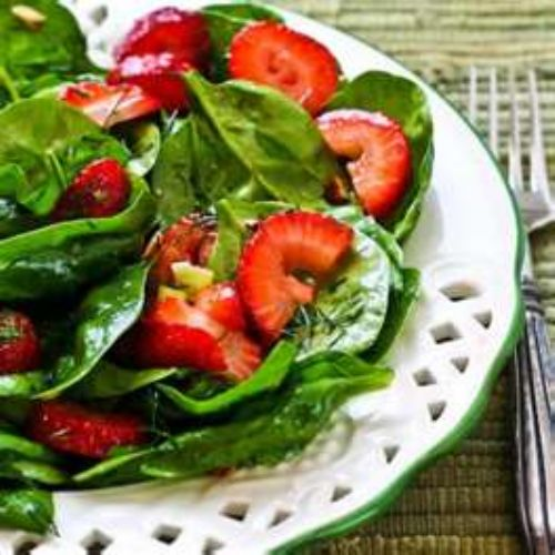Spinach Strawberry Salad