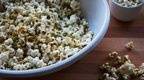Brown-Butter-and-Lemon Popcorn