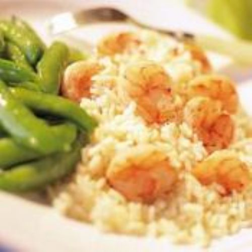Floribbean Shrimp with Jasmine Rice