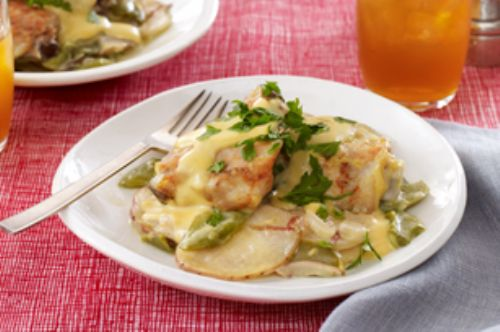 Cheesy Chicken & Potatoes