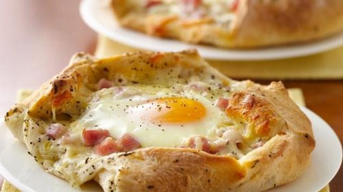 Breakfast Crostatas
