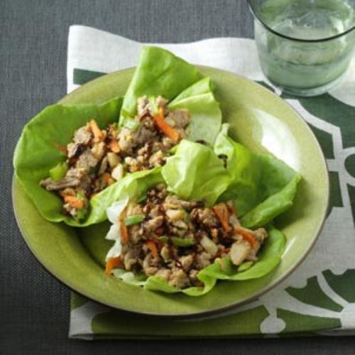 Peanutty Asian Lettuce Wraps