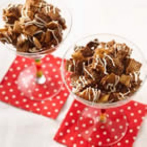Chocolate Chex Caramel Crunch