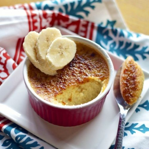 Banana's Foster Creme Brulee