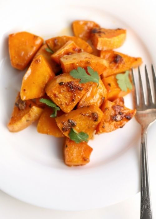 Chipotle Glazed Butternut Squash