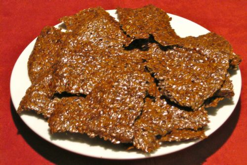 Creative Raw Flax Seed Cracker Recipe