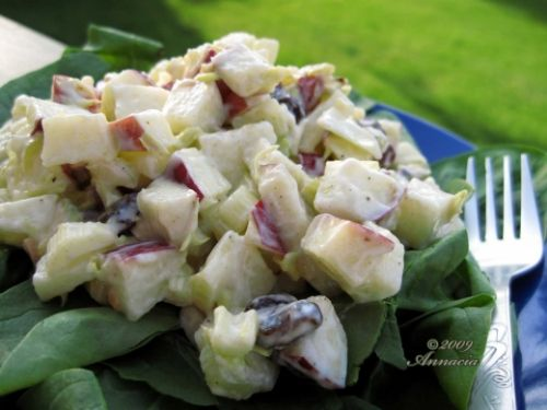 Apple and Pistachio Salad