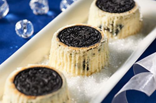 OREO Upside-Down Mini Cheesecakes
