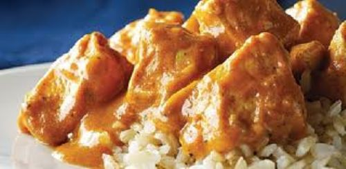 Indian Chicken in Tomato Cream Sauce