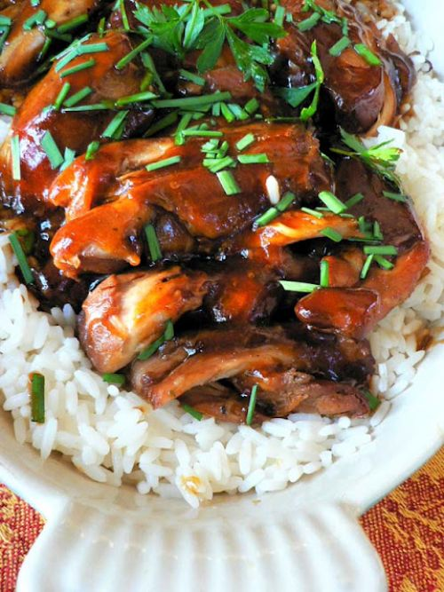 Teriyaki Chicken - Crock Pot
