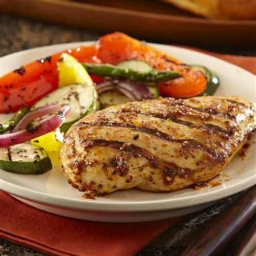 Grilled Brown Sugar Bourbon Chicken